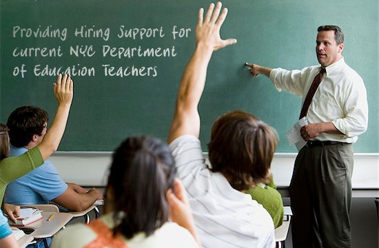teacher hiring support center home